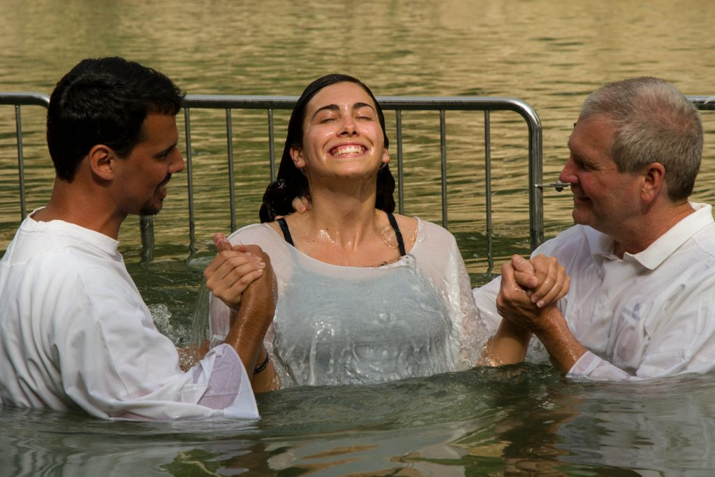Carolina Smith baptism