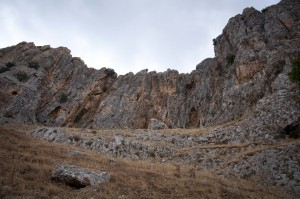 A labyrinth of caves was carved into the cliffs of Mt. Arbel. Those caves provided a safe hiding place ... until the day the Romans arrived.