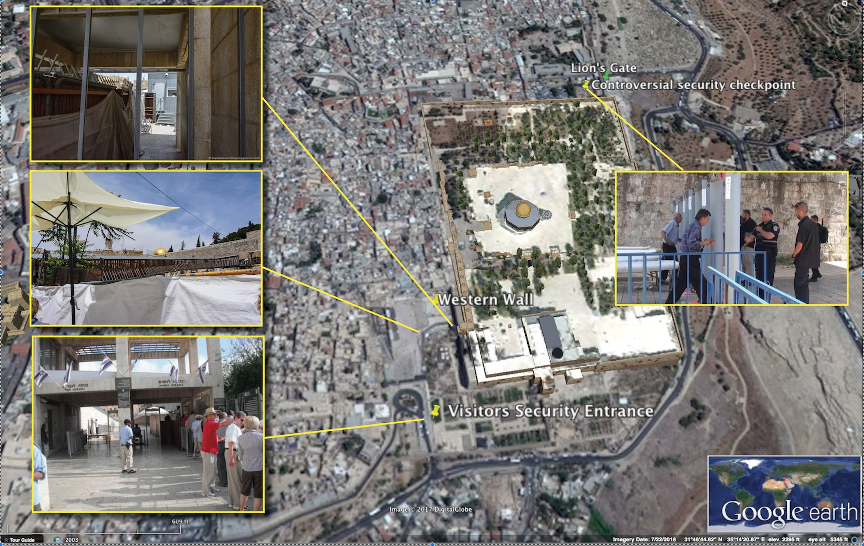 Tough Temple Mount security: For a non-Muslim, it\'s been that way ...