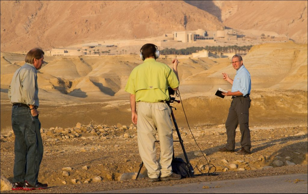 Andy TV shoot Masada