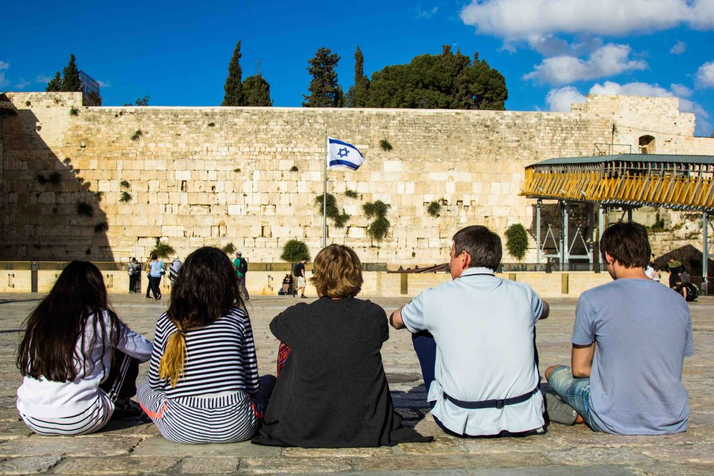 For the first time in 19 centuries, Jerusalem is controlled by Jewish forces. Jewish families can gather at the Western Wall in peace, even as Muslims gather for prayers on the Temple Mount above them.