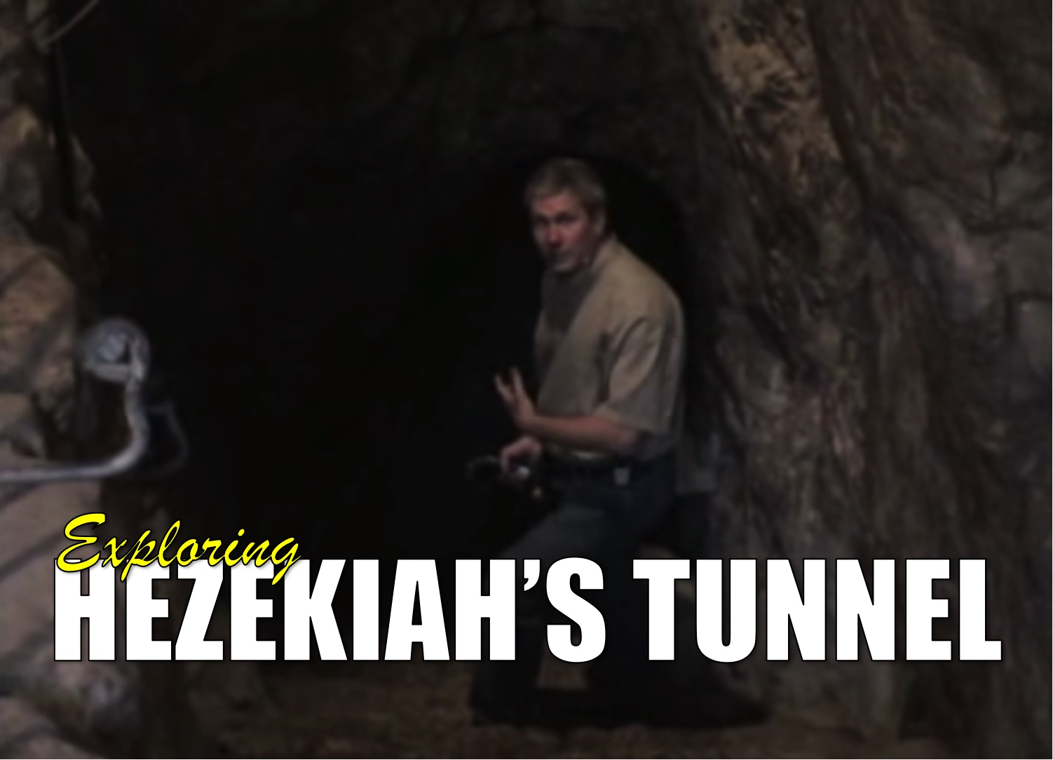 Exploring Hezekiah Tunnel