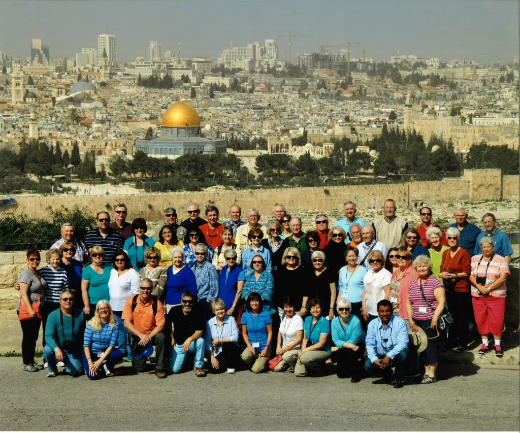 Israel Travelers March 2015